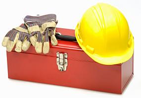 RFID construction tool set