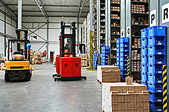 RFID warehouse management with vehicle mount computer