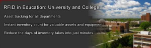 University asset management