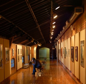 RFID Security Monitoring Inventory for Art Galleries & Museums
