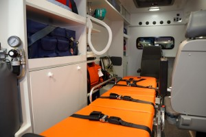 Inside the Ambulance in tampa