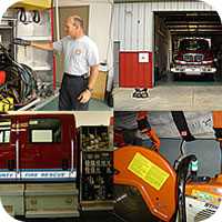 Public Safety Fire RFID Application