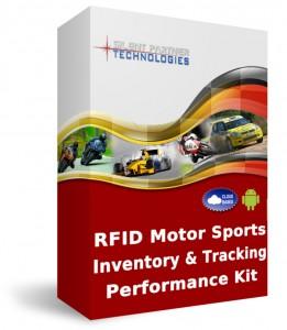 RFID motor sports inventory & tracking performance kit