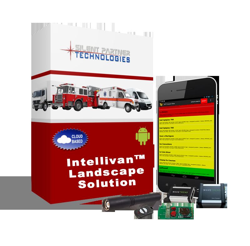 Silent Partner Technologies™ IntelliVan Landscape Equipment Tracking Solution
