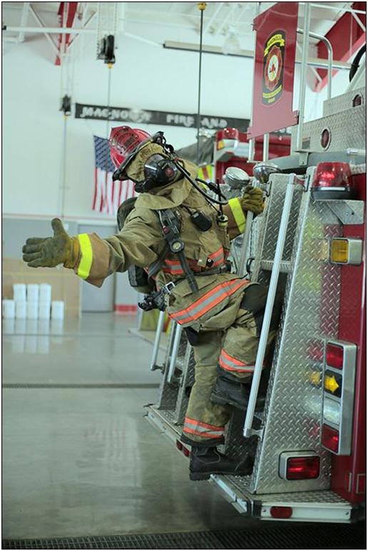 Magnolia Valley Fire Dept Personnel