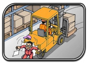 Forklift Safety System Accident Prevention