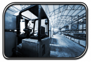 Forklift Safety System Warehouse
